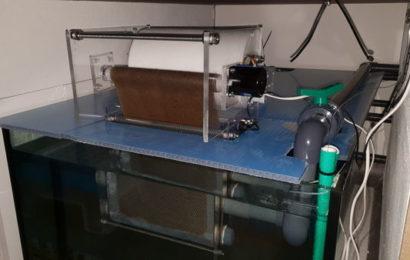 4.500-Liter-Becken – DIY Vliesfilter